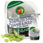 Earth Friendly Products Soy Stainless Steel Cleaner 32-oz. spray bottles - Case of 12